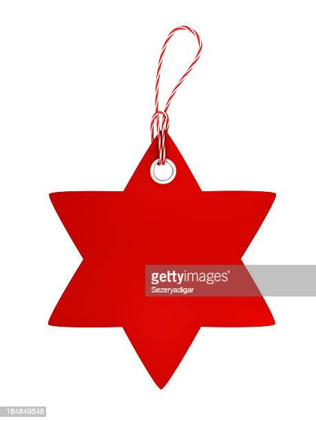 Price tag with star shape