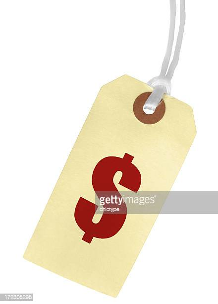 Price/Dollar Sign Paper Tag