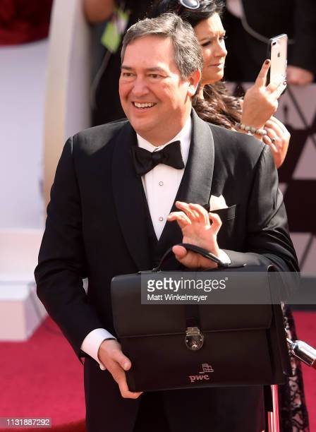 PricewaterhouseCoopers representative attends the 91st Annual Academy Awards at Hollywood and Highland on February 24 2019 in Hollywood California