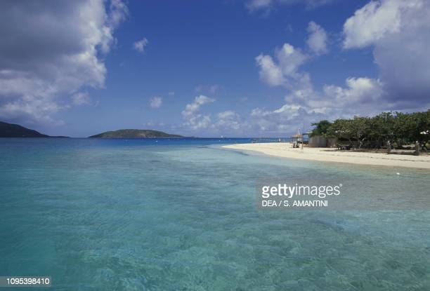 Prickly Pear Island Beach, Virgin Gorda, British Virgin Islands, United Kingdom Overseas Territories.