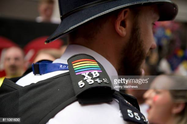 Pride in London, formally known as Pride London, is an annual LGBT pride festival and parade held each summer in London, United Kingdom. A policeman...