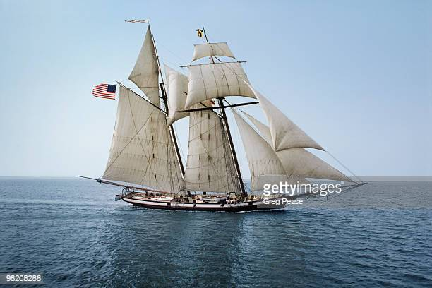 Pride of Baltimore Sailing on the Chesapeake Bay