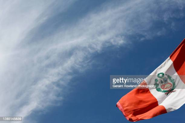 pride of peru - politics stock pictures, royalty-free photos & images