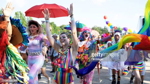 Pride Parade is seen during the 2019 Bonnaroo Arts And Music Festival on June 15, 2019 in Manchester, Tennessee.