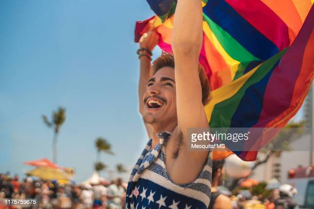lgbtqi pride - brazilian carnival stock pictures, royalty-free photos & images