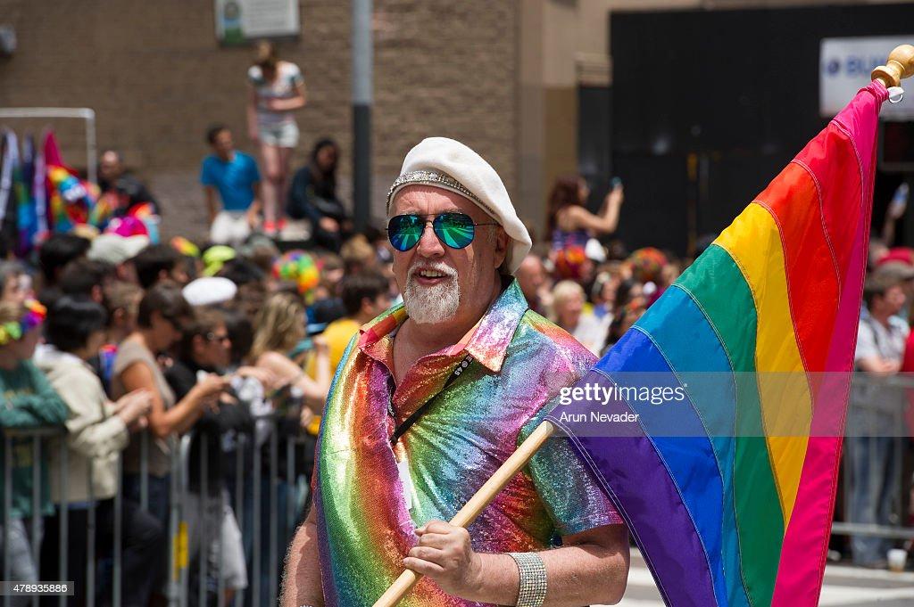 2015 San Francisco Gay Pride Festival : News Photo