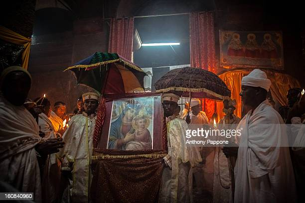 CONTENT] priest and Pilgrims celebrate the fasika inside the rockhewn churches of Lalibela Easter is one of the greatest festivals of the Ethiopian...