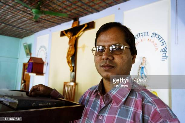 Priest at a Catholic church in Bangladesh