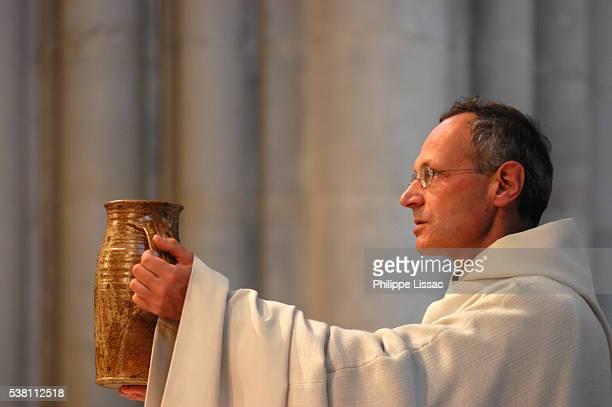 Priest Giving Mass