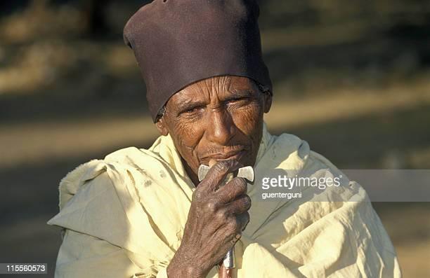 Priest in Lalibela, Ethiopia