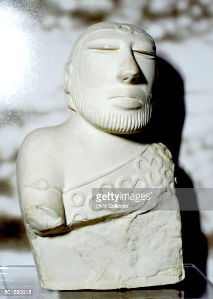 Priest King or Deity Indus Valley MohenjoDaro c2100 BC