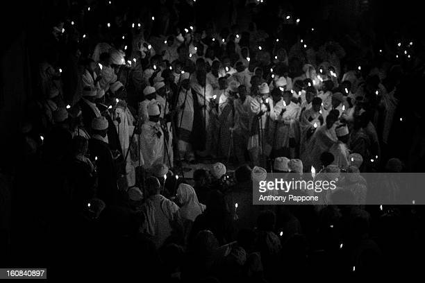 CONTENT] priests celebrate fasika in the church Bet Medhame Alem lalibela Easter is one of the greatest festivals of the Ethiopian people celebrated...