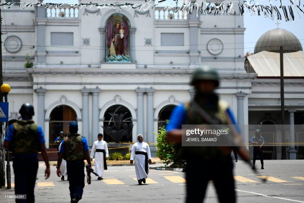 SRI LANKA-ATTACKS : Nachrichtenfoto