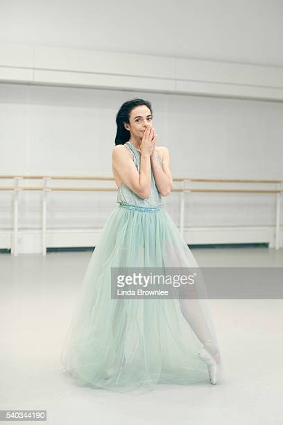 Prima ballerina Allessandra Ferri is photographed for Vogue on March 12, 2015 in London, England.