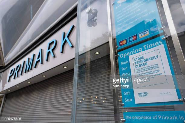 Primark has had to close it's doors again on the day that the second national lockdown came into effect in the city centre as all non-essential shops...