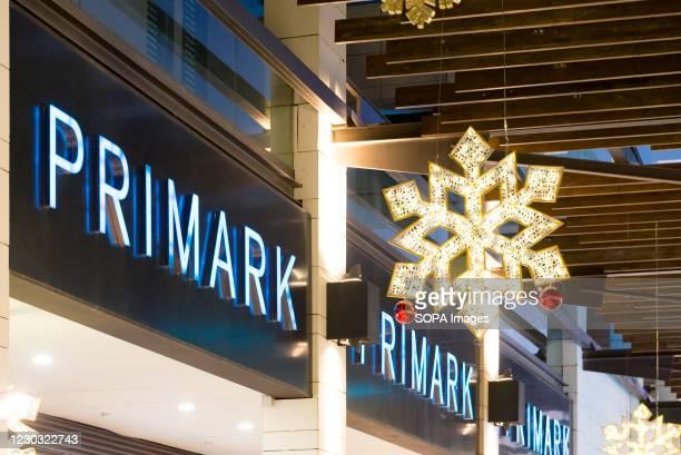 Primark logo seen on the Bonaire shopping center.