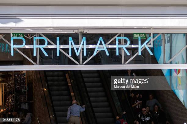 Primark shop in Gran Via street Primark has turned over 8% more in the first half of its fiscal year The British textile company owned by Associated...