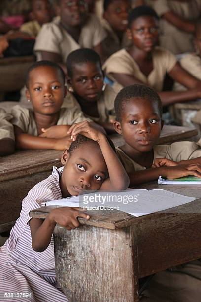 Primary school in Africa.
