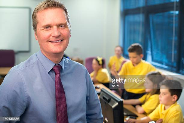primary school it class teacher - school principal stock pictures, royalty-free photos & images