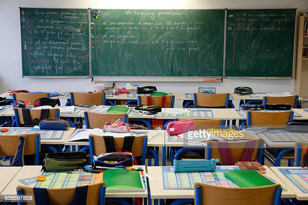 primary school - classroom stock pictures, royalty-free photos & images