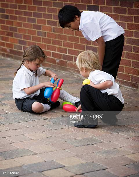 primary school: playing together