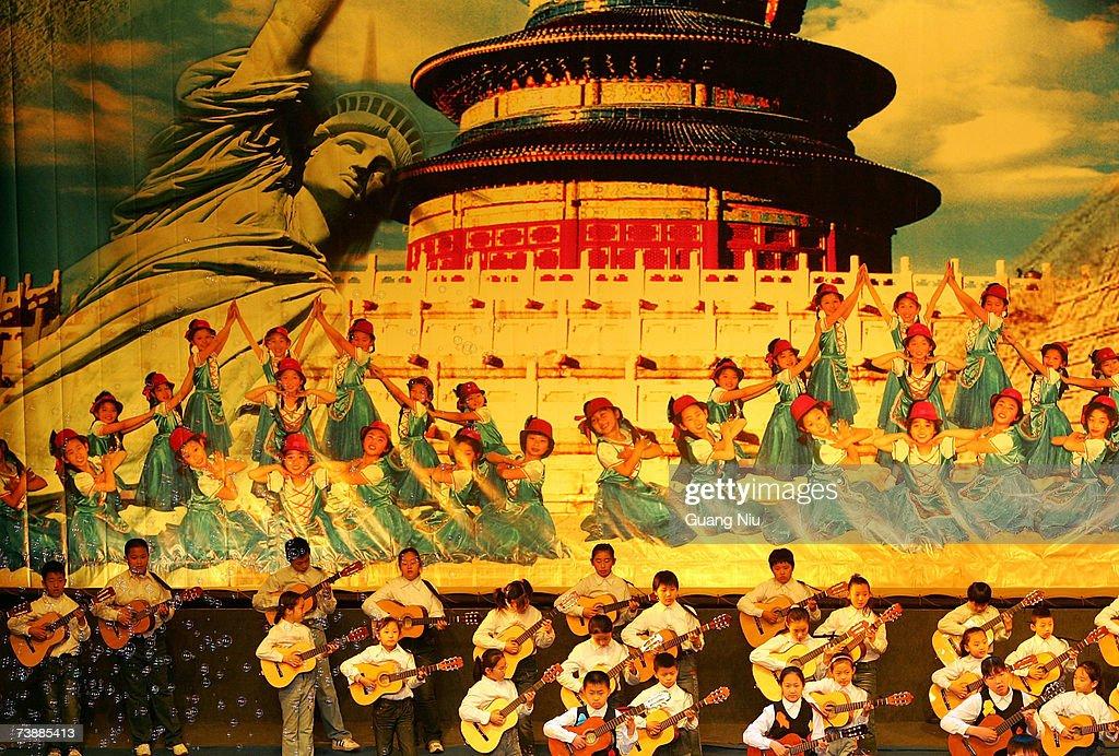China Prepares For 2008 Olympic Games : Fotografía de noticias