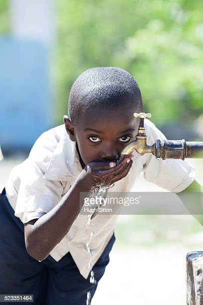 primary school. tanzania. africa - hugh sitton stock-fotos und bilder