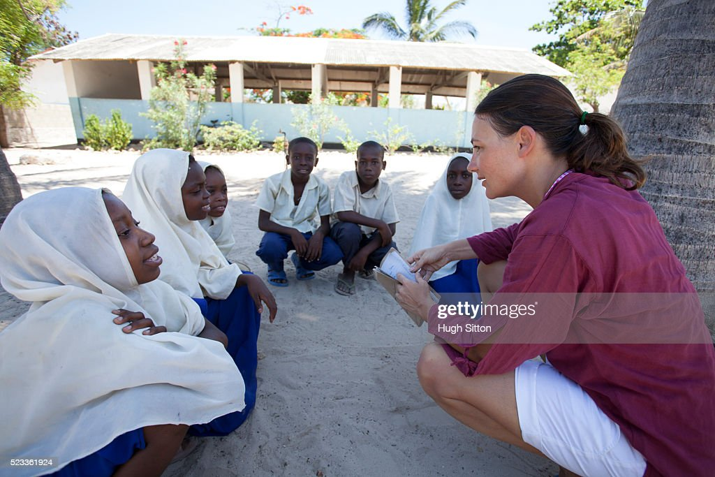 Primary School. Tanzania. AFRICA : Stock Photo