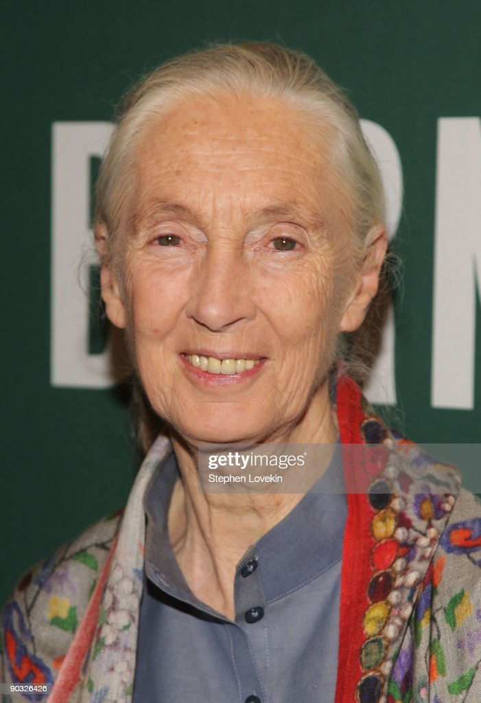 "Jane Goodall Promotes ""Hope For The Animals And Their World"""