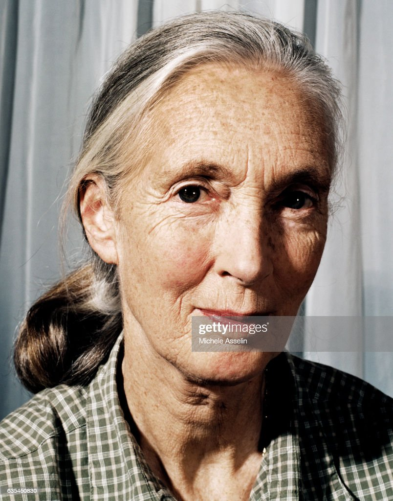 Jane Goodall, Portrait Session, September 12, 2001