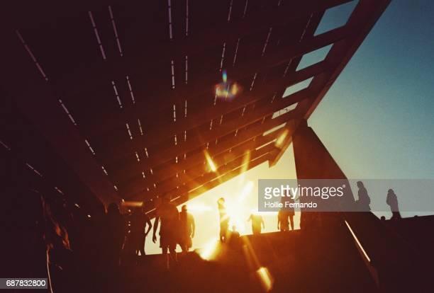 Primavera Festival Sunny Solar Panel Scene
