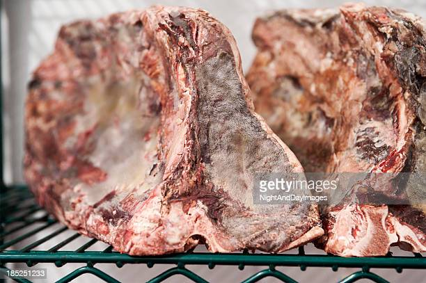 Prime Beef Trocknen in Cooler