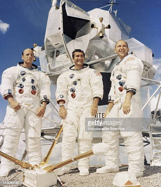 Prime Crew Of The Apollo 12 Lunar Landing Mission The Prime Crew Of The Apollo 12 Lunar Landing Mission L To R Commander Charles 'Pete' Conrad Jr...