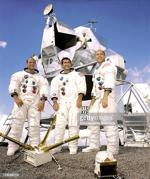 Prime Crew Of The Apollo 12 Lunar Landing Mission The Prime Crew Of The Apollo 12 Lunar Landing Mission L To R Commander Charles 'Pete' Conrad Jr...