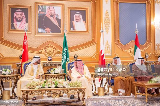 CREDIT BANDAR ALGALOUD / SAUDI KINGDOM COUNCIL / HANDOUT NO MARKETING NO ADVERTISING CAMPAIGNS DISTRIBUTED AS A SERVICE TO CLIENTS UAE Prime Minister...