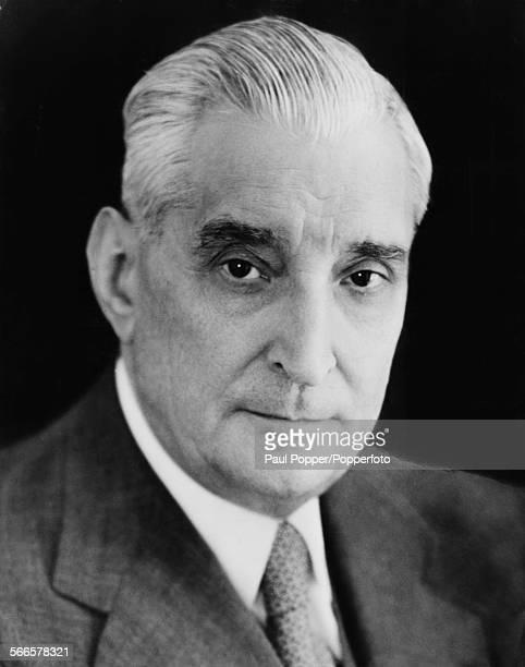 Prime Minister and virtual dictator of Portugal Antonio de Oliveira Salazar Portugal April 1968
