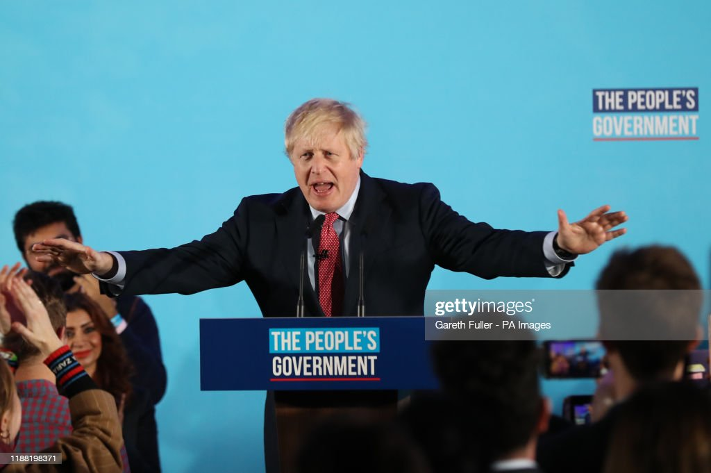 General Election 2019 : News Photo