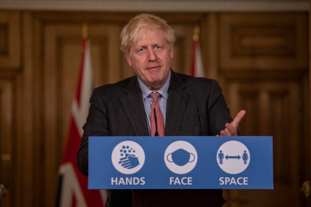 GBR: Boris Johnson Addresses The Nation With The Government's Chief Scientific Advisors
