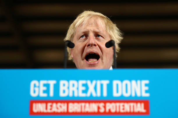 GBR: Britain's Conservative PM Johnson Campaigns