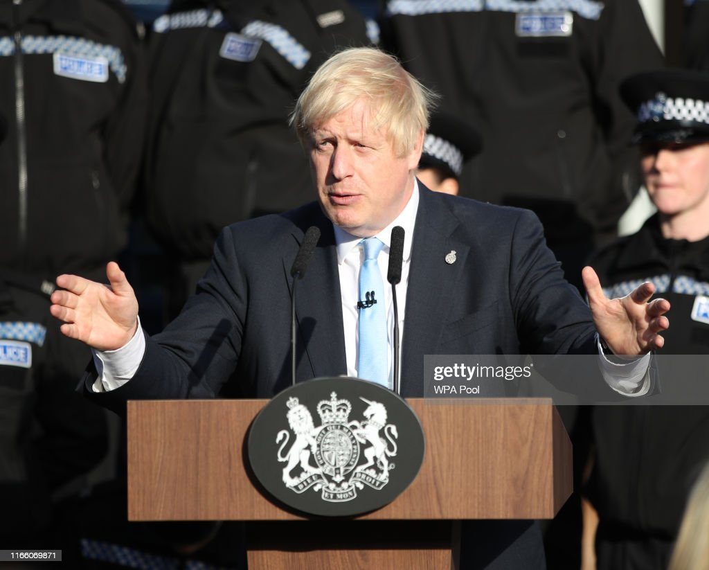 The Prime Minister Launches National Campaign To Recruit 20,000 Police Officers : News Photo