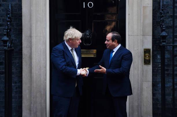 GBR: Boris Johnson Hosts Egyptian President Abdel Fattah el-Sisi