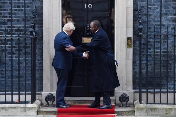 GBR: Boris Johnson Hosts Kenyan President Uhuru Kenyatta
