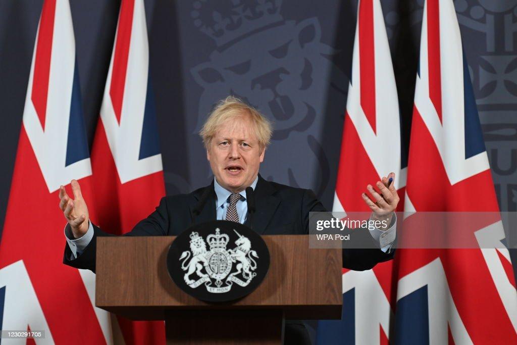 UK And EU Reach Brexit Trade Deal : News Photo