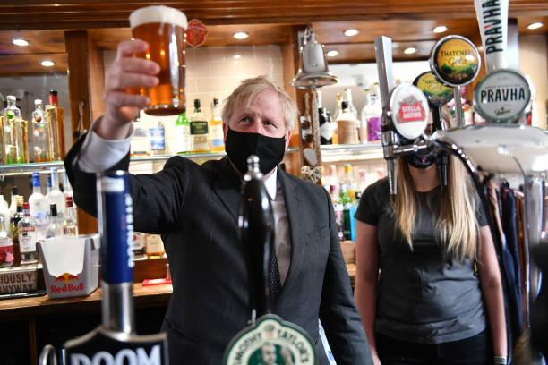 GBR: Boris Johnson Visits Wolverhampton