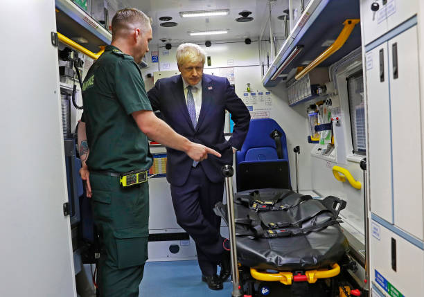 GBR: Boris Johnson Pledges £1.8bn In Hospital Funding
