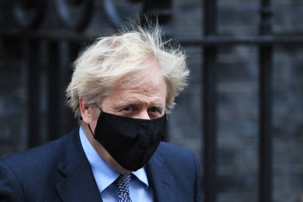 GBR: Boris Johnson Leaves Downing Street Ahead Of Commons Vote On New UK Tier System
