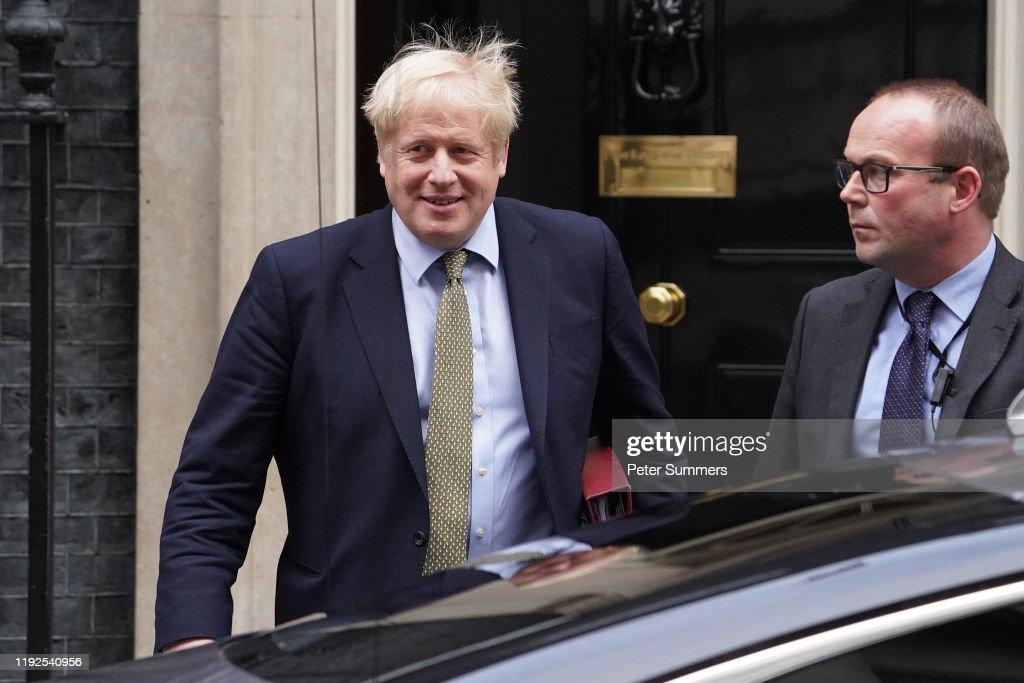 Boris Johnson Attends First PMQs After Christmas Recess : News Photo