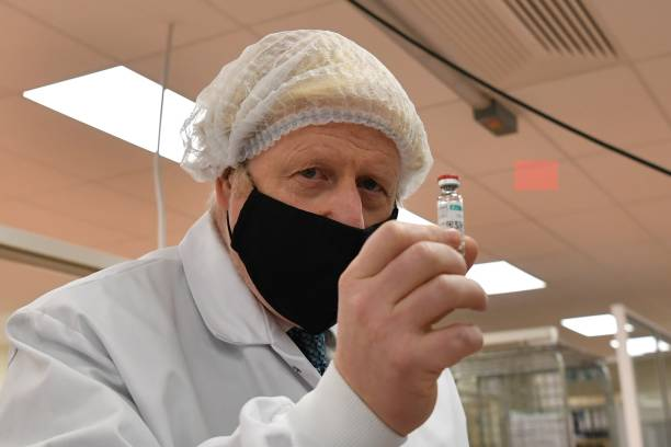 GBR: Boris Johnson Visits Laboratory In North Wales [PLACEHOLDER]