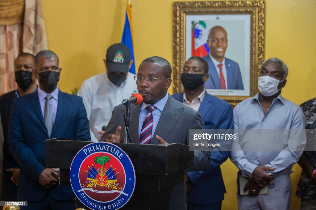 Haitians React After President Moïse Is Assassinated At Home : News Photo