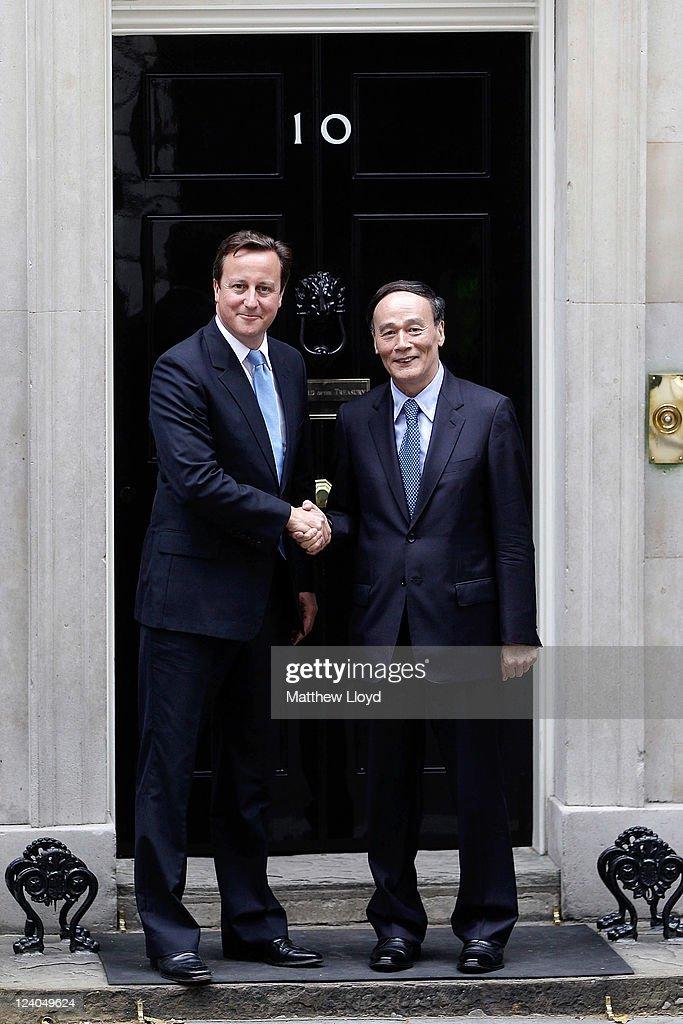 Chinese Vice President Wang Qishan Visits London